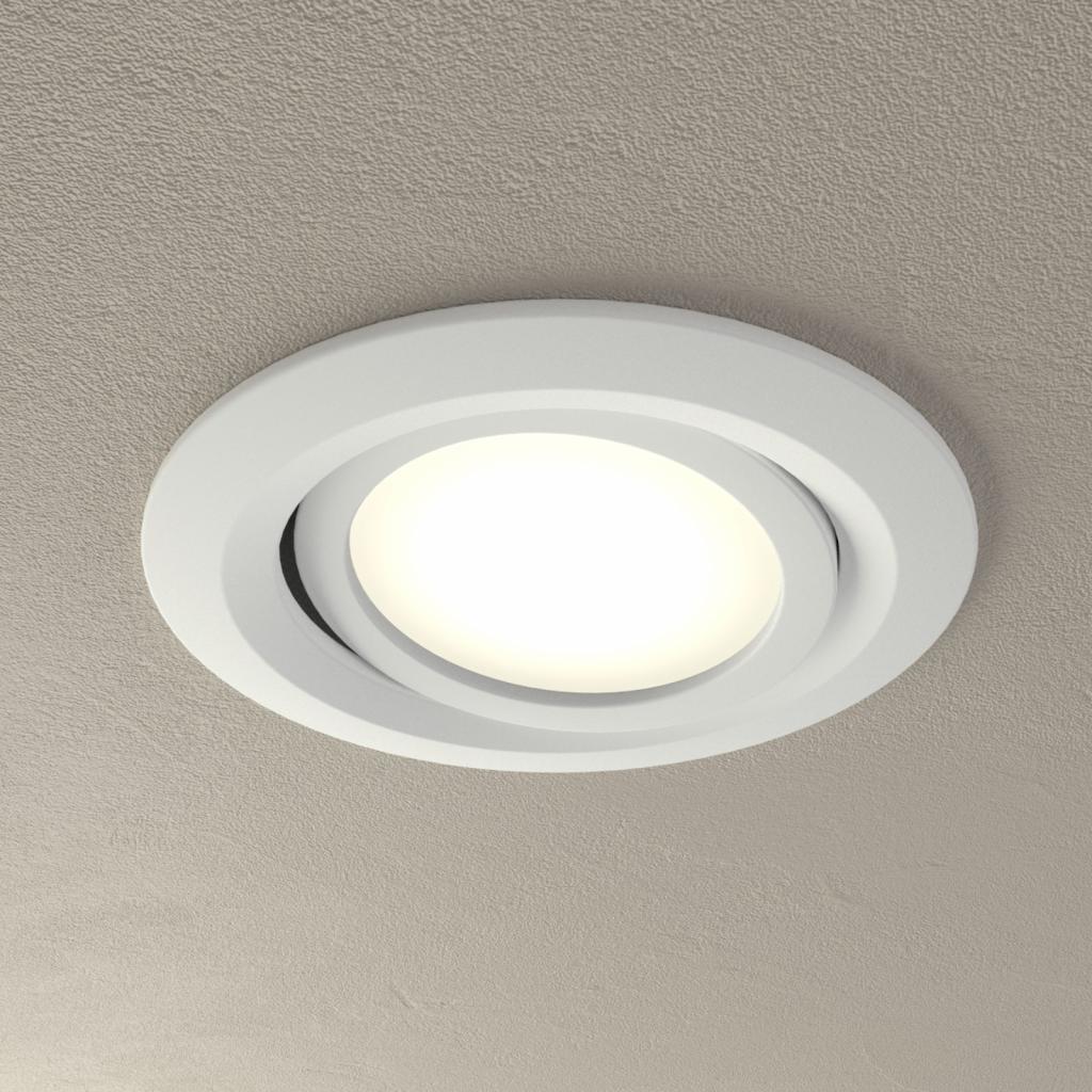 Produktové foto Paulmann Paulmann Coin Slim LED podhledové svítidlo, bílé