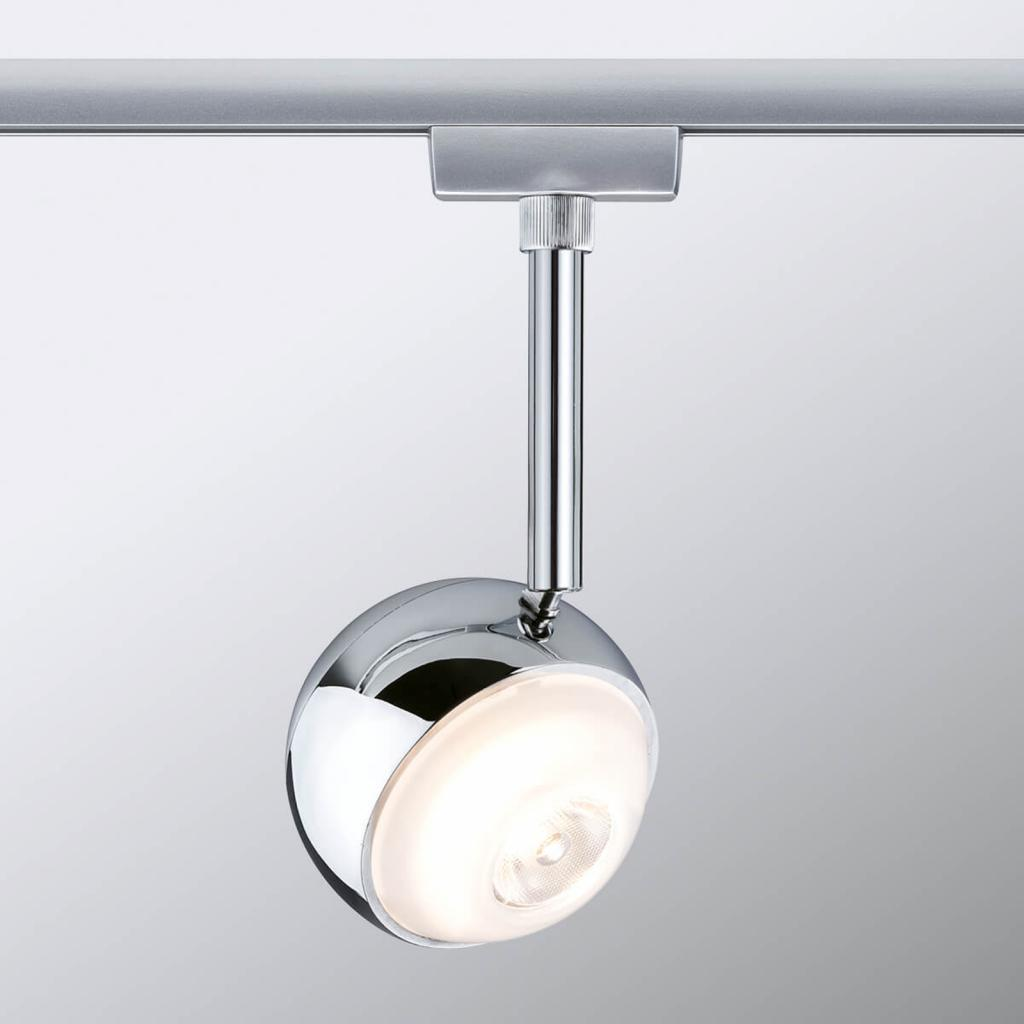 Produktové foto Paulmann Paulmann URail Capsule II LED bodovka, chrom mat