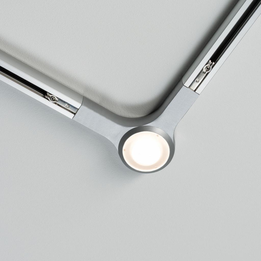Produktové foto Paulmann Paulmann URail LED L-spojka, matný chrom