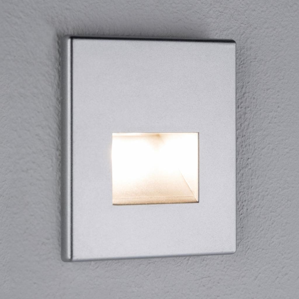 Produktové foto Paulmann Paulmann LED nástěnné vestavné svítidlo Edge chrom