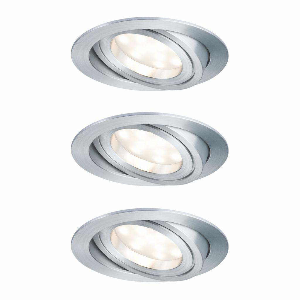 Produktové foto Paulmann Paulmann LED bodové svítidlo Coin 3x7W, hliník