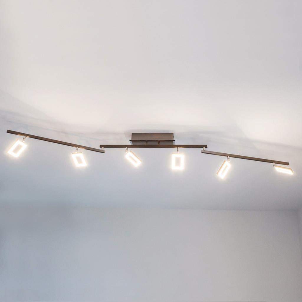 Produktové foto Paul Neuhaus Stropní LED svítidlo Inigo se šesti světly