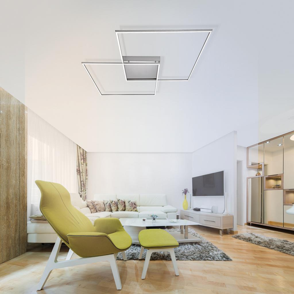 Produktové foto Q-SMART-HOME Paul Neuhaus Q-INIGO stropní LED světlo, 68cm