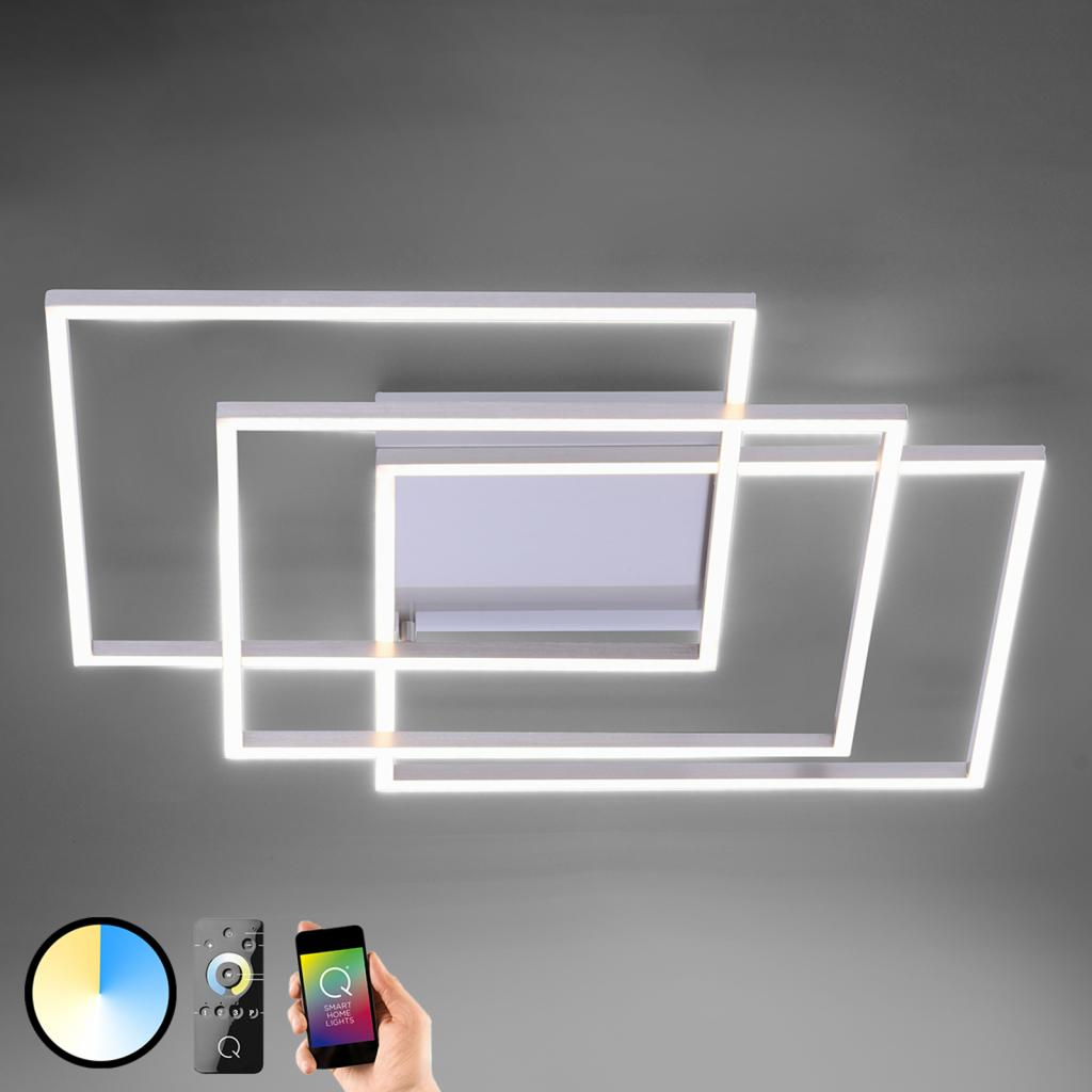 Produktové foto Q-SMART-HOME Paul Neuhaus Q-INIGO stropní LED světlo, 60cm
