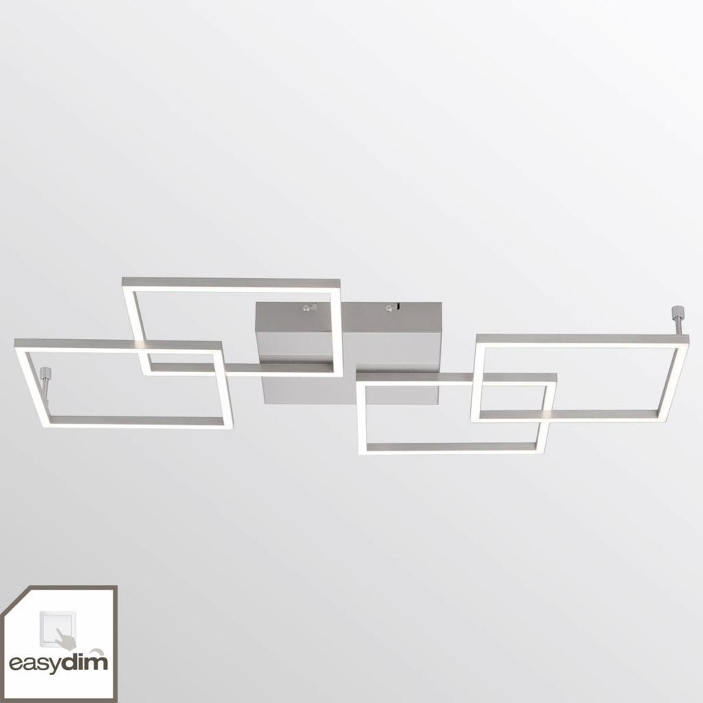 Produktové foto Paul Neuhaus Stropní LED svítidlo Inigo se 4 světly podlouhlé
