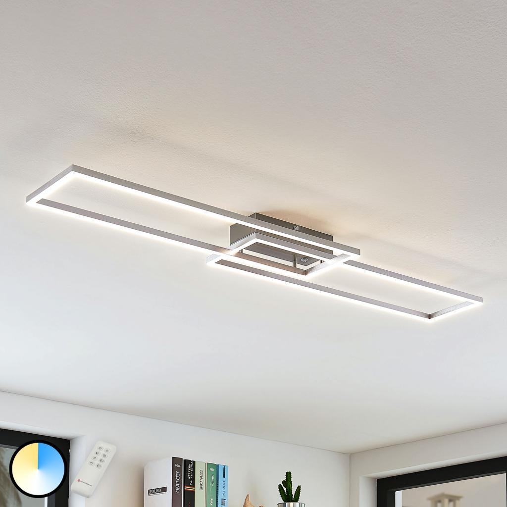 Produktové foto Lampenwelt.com LED světlo Quadra, regulovatelné, 2zdroje, 110 cm