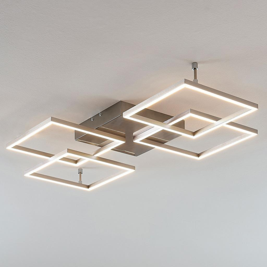 Produktové foto Lucande LED svítidlo Quadra, 4zdroje, 80,5cm