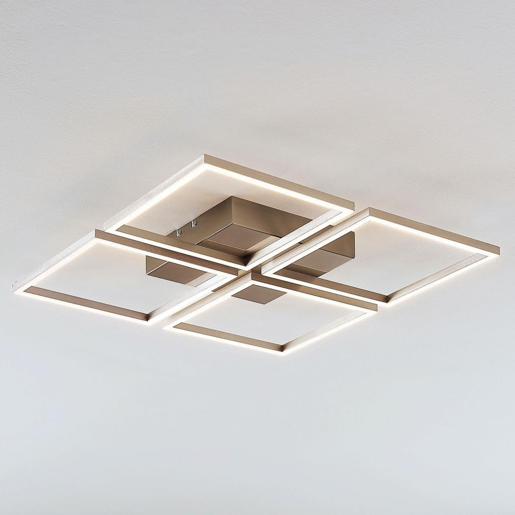 Produktové foto Lampenwelt.com LED svítidlo Quadra, 4zdroje, 52,5 cm