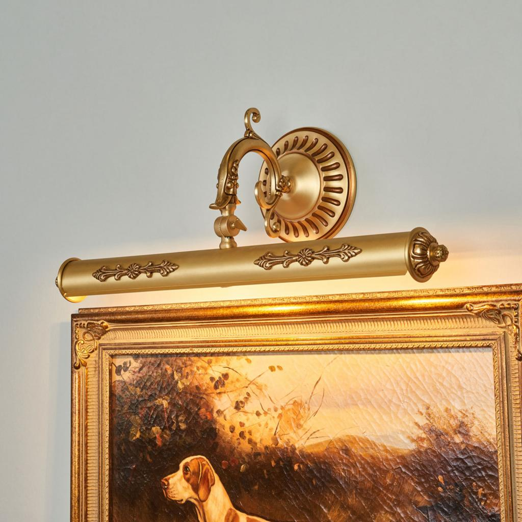 Produktové foto RIPERLamP Obrazové svítidlo Eligio s bohatým zdobením, 55 cm