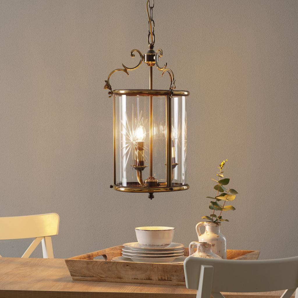 Produktové foto RIPERLamP RAMIRA - závěsné světlo ve tvaru lucerny