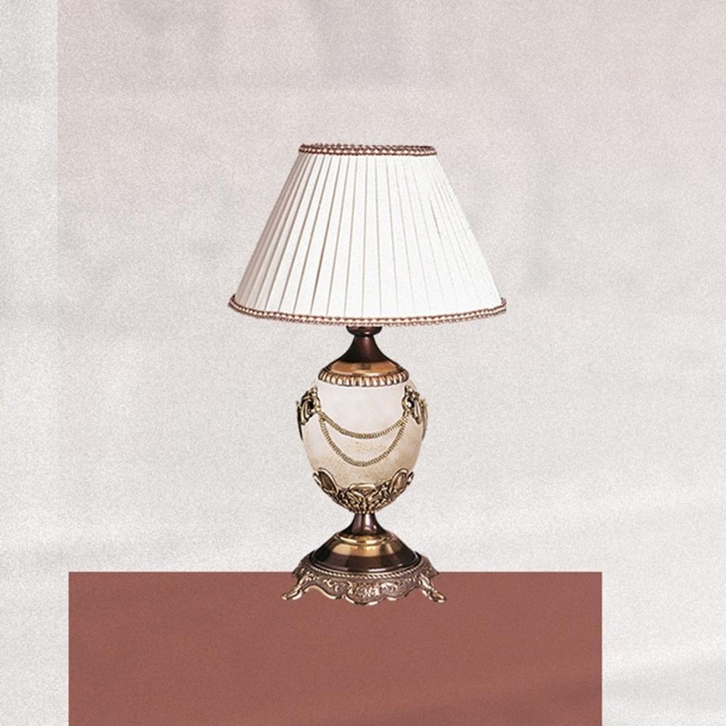 Produktové foto RIPERLamP Vysoce dekorativní stolní lampa PRESTIGE 47 cm