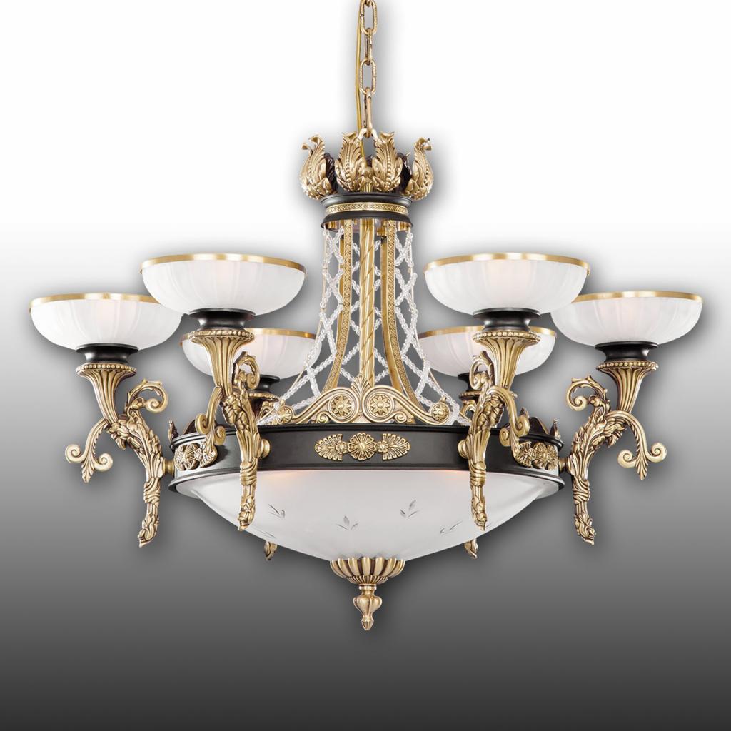 Produktové foto RIPERLamP Okázalý lustr Tudor