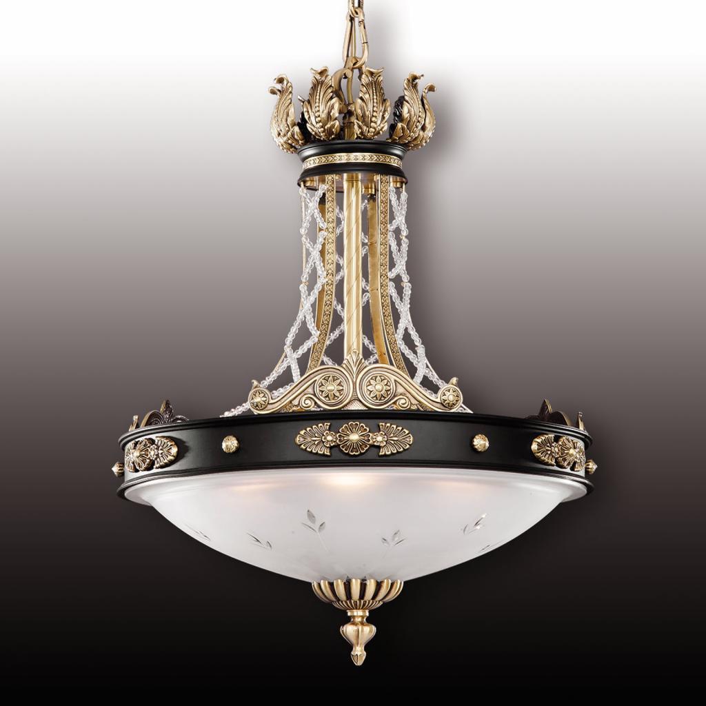 Produktové foto RIPERLamP Tudor závěsné světlo s křišťálem Asfour