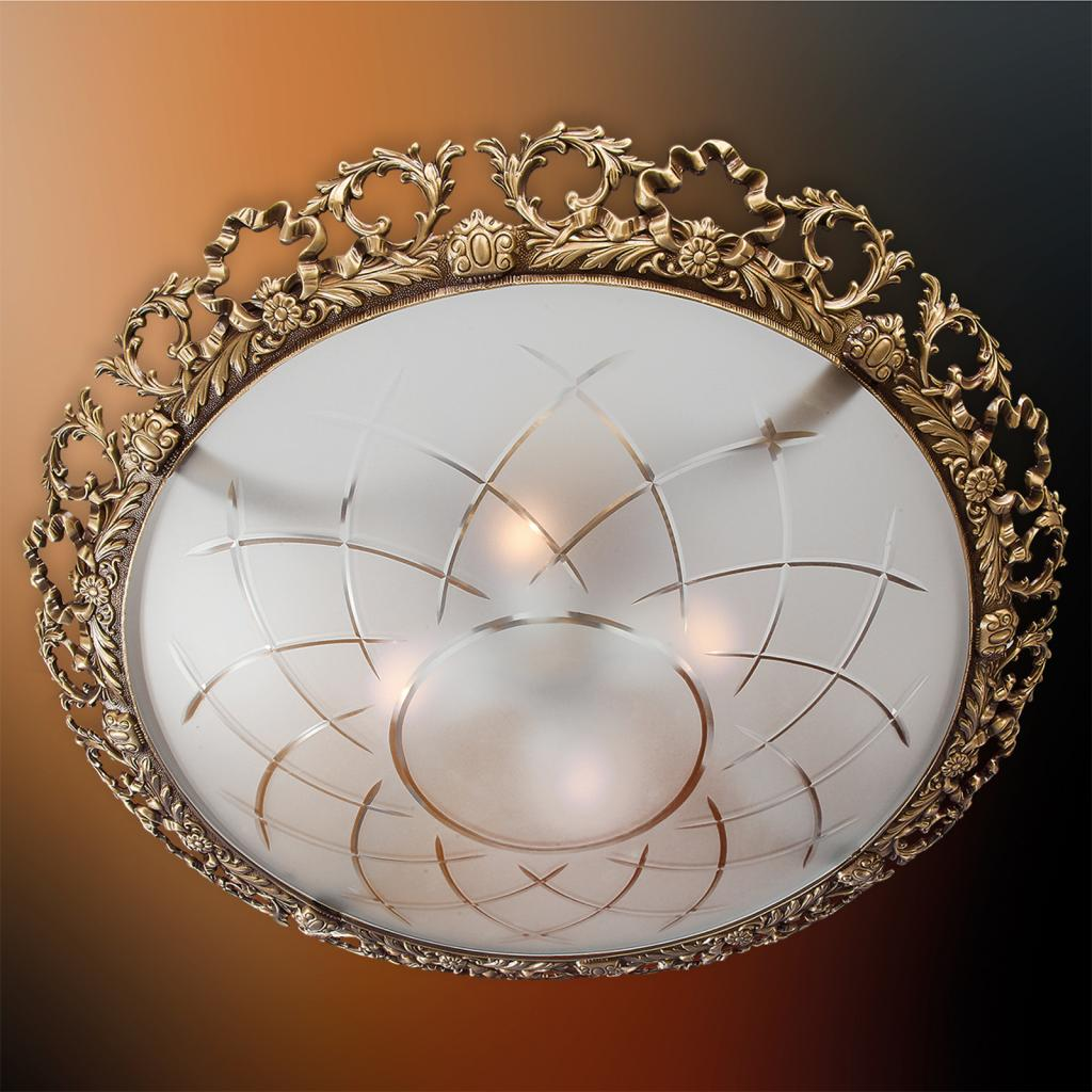 Produktové foto RIPERLamP Stropní světlo Arena s ozdobným orámováním, 57cm