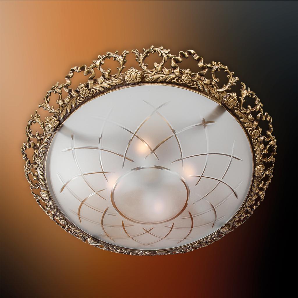 Produktové foto RIPERLamP Stropní světlo Arena se zdobeným okrajem, 45 cm