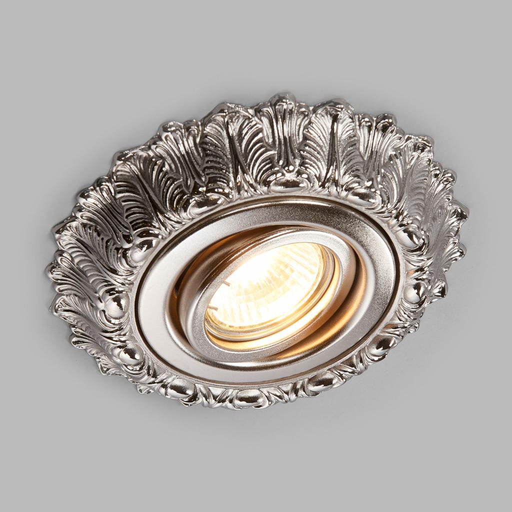 Produktové foto RIPERLamP Brigite - podhledové bodové svítidlo antický nikl