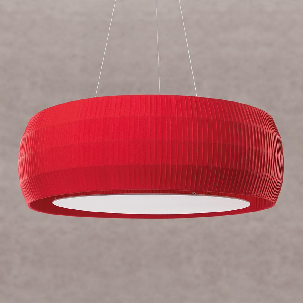 Produktové foto Ridi Červené LED závěsné světlo Maxi Wheel