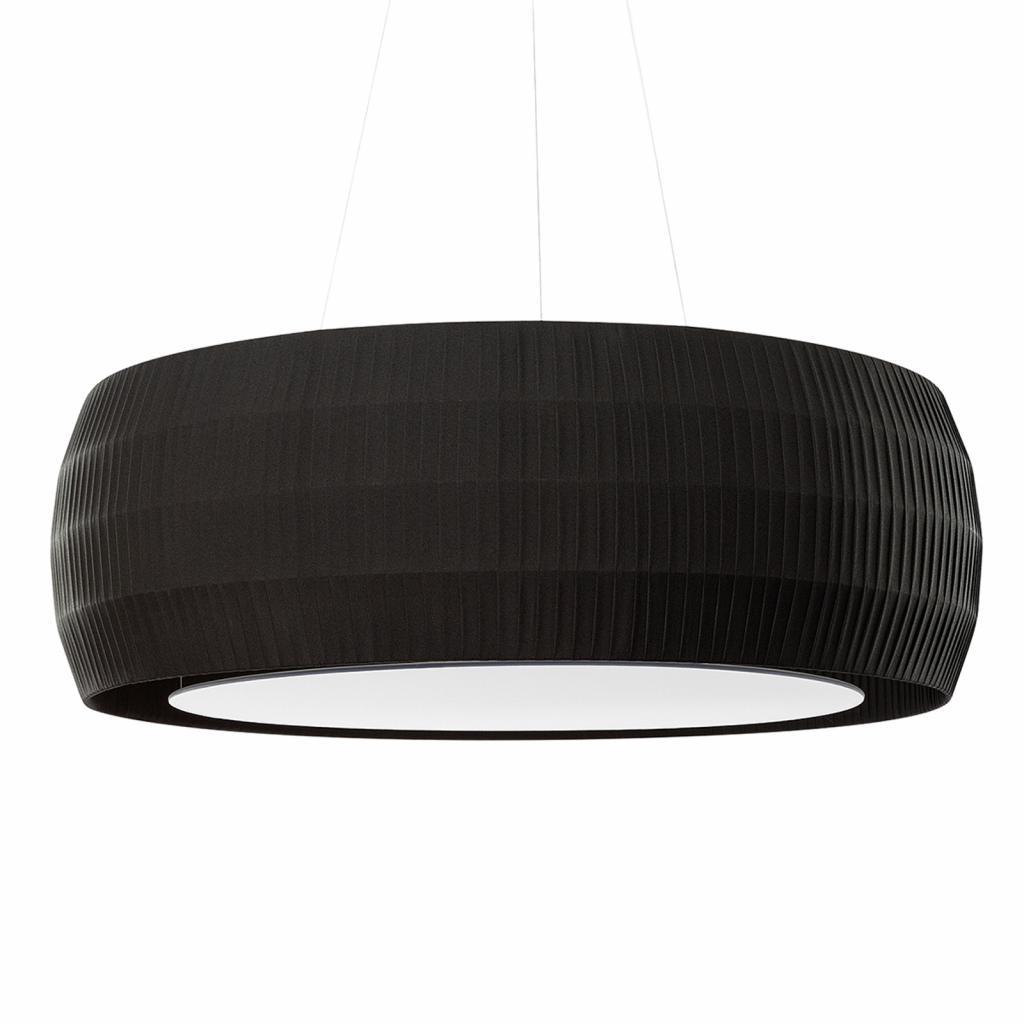 Produktové foto Ridi Hluk minimalizující závěsné světlo Maxi Wheel čerň