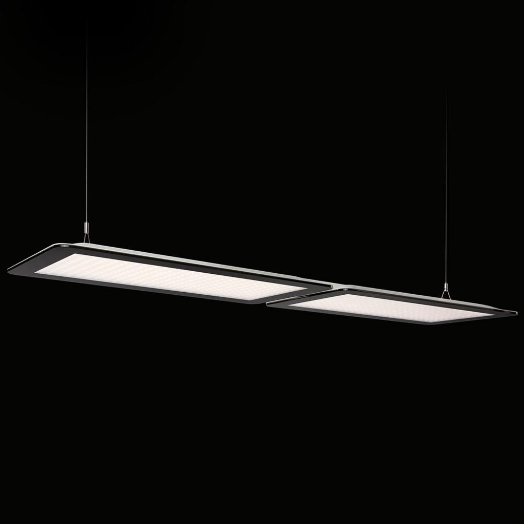 Produktové foto Ridi Dvojité LED závěsné světlo Dome-P-K2 pro kanceláře