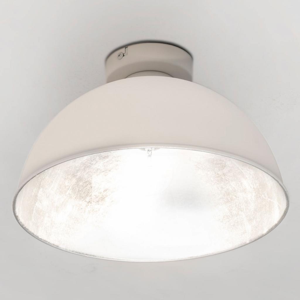 Produktové foto Reality Leuchten Industriální stropní světlo Jimmy, bílá/stříbrná