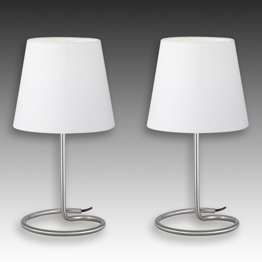 Produktové foto Reality Leuchten Twin - moderní sada stolních lamp