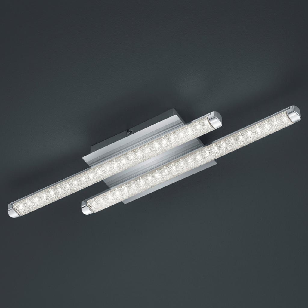 Produktové foto Reality Leuchten LED stropní svítidlo Street 2zdr vzhled křišťálu