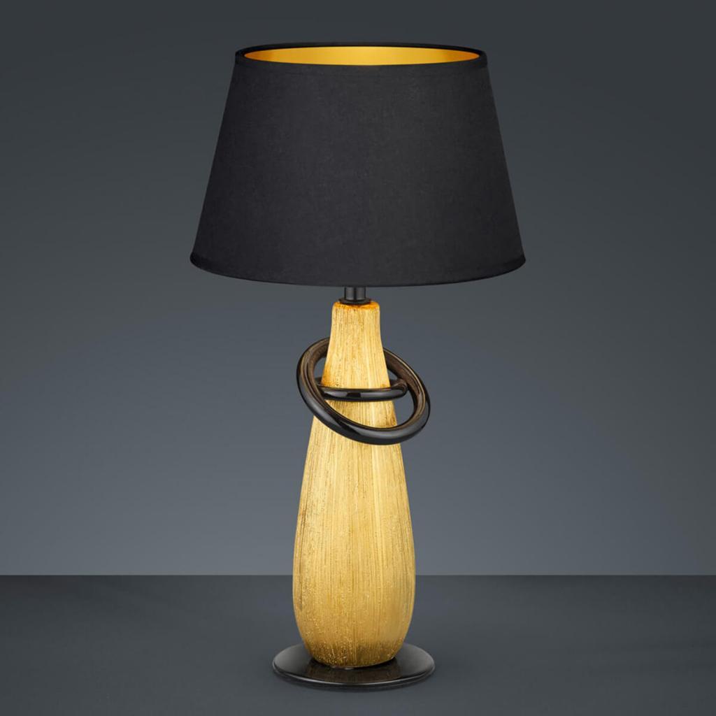 Produktové foto Reality Leuchten Moderní keramická stolní lampa Thebes