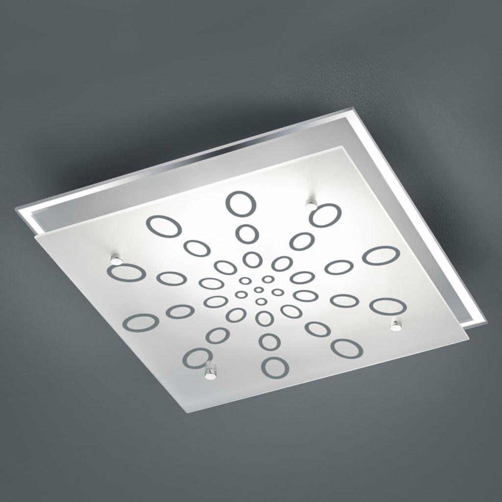 Produktové foto Reality Leuchten LED stropní svítidlo Dukat, stmívací spínačem