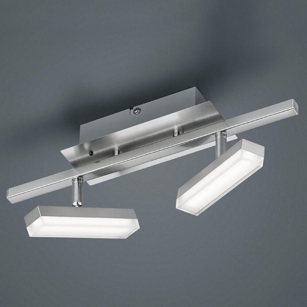 Produktové foto Reality Leuchten 2zdr RGB-LED stropní svítidlo Bondy s ovládáním