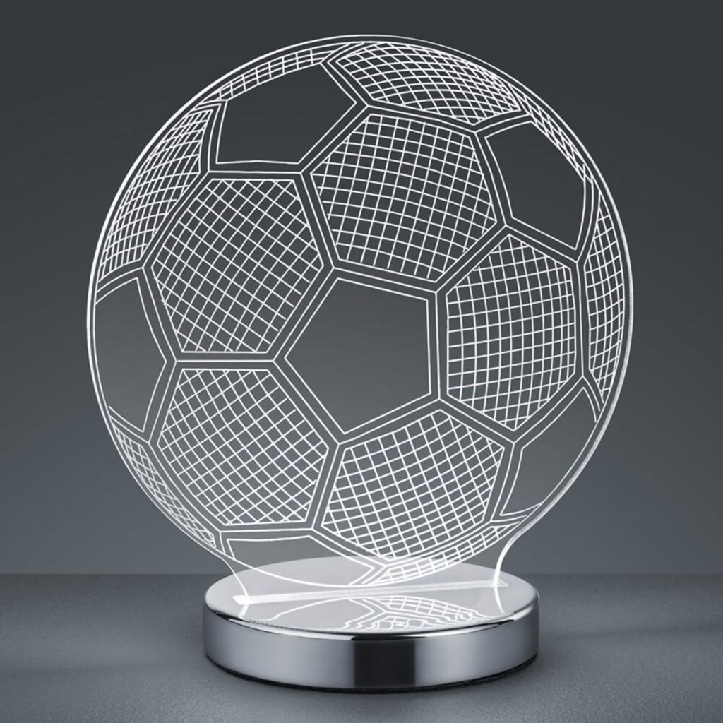 Produktové foto Reality Leuchten 3D hologramová stolní lampa Ball - barva volitelná