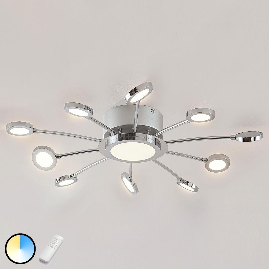 Produktové foto Lindby LED stropní svítidlo Meru, smožností změny barvy