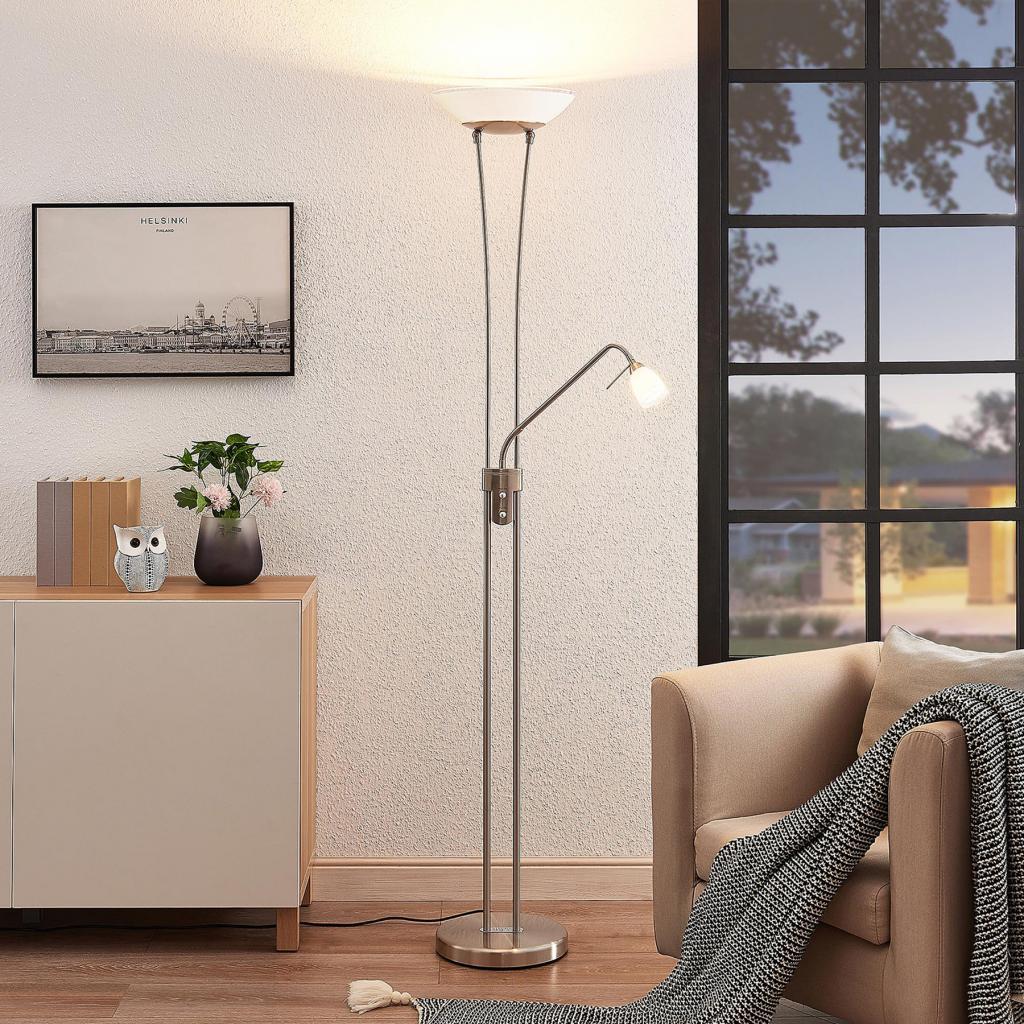 Produktové foto Lindby Lindby Jovina stojací lampa s ramenem