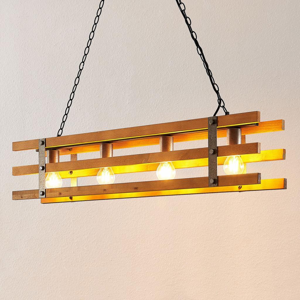 Produktové foto Lindby Lindby Jamina závěsné světlo, čtyřžárovkové