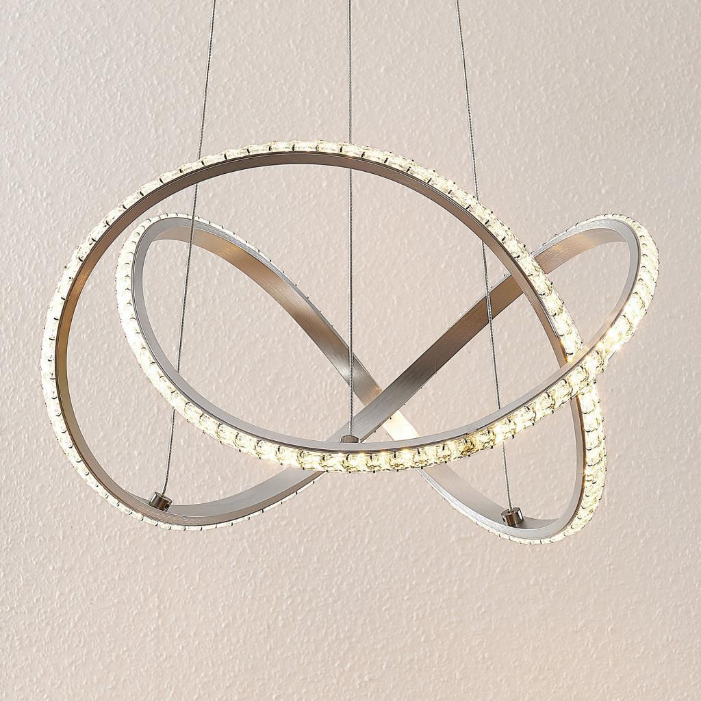 Produktové foto Lindby Lindby Criostal LED závěsné světlo