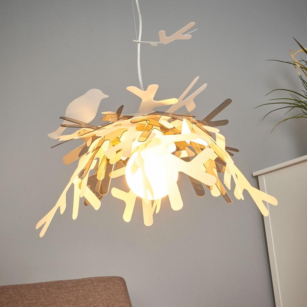Produktové foto Slamp Slamp Luis - designové závěsné světlo, zlaté