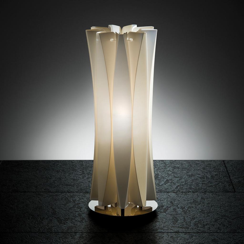Produktové foto Slamp Slamp Bach stolní lampa, výška 42 cm, zlatá