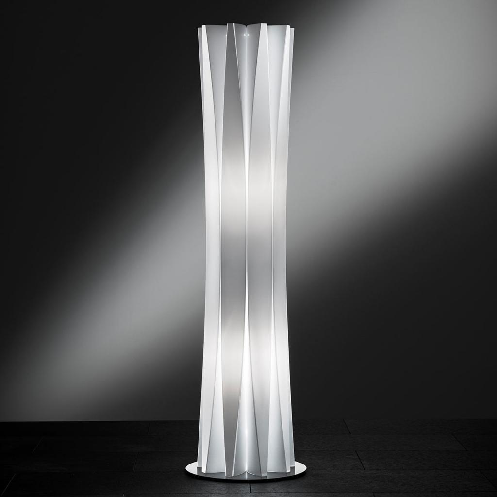 Produktové foto Slamp Slamp Bach stojací lampa, výška 116 cm, bílá