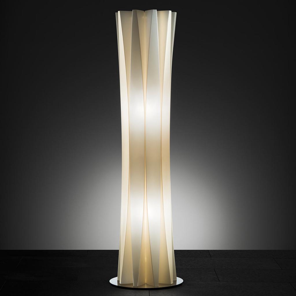 Produktové foto Slamp Slamp Bach stojací lampa, výška 116 cm, zlatá