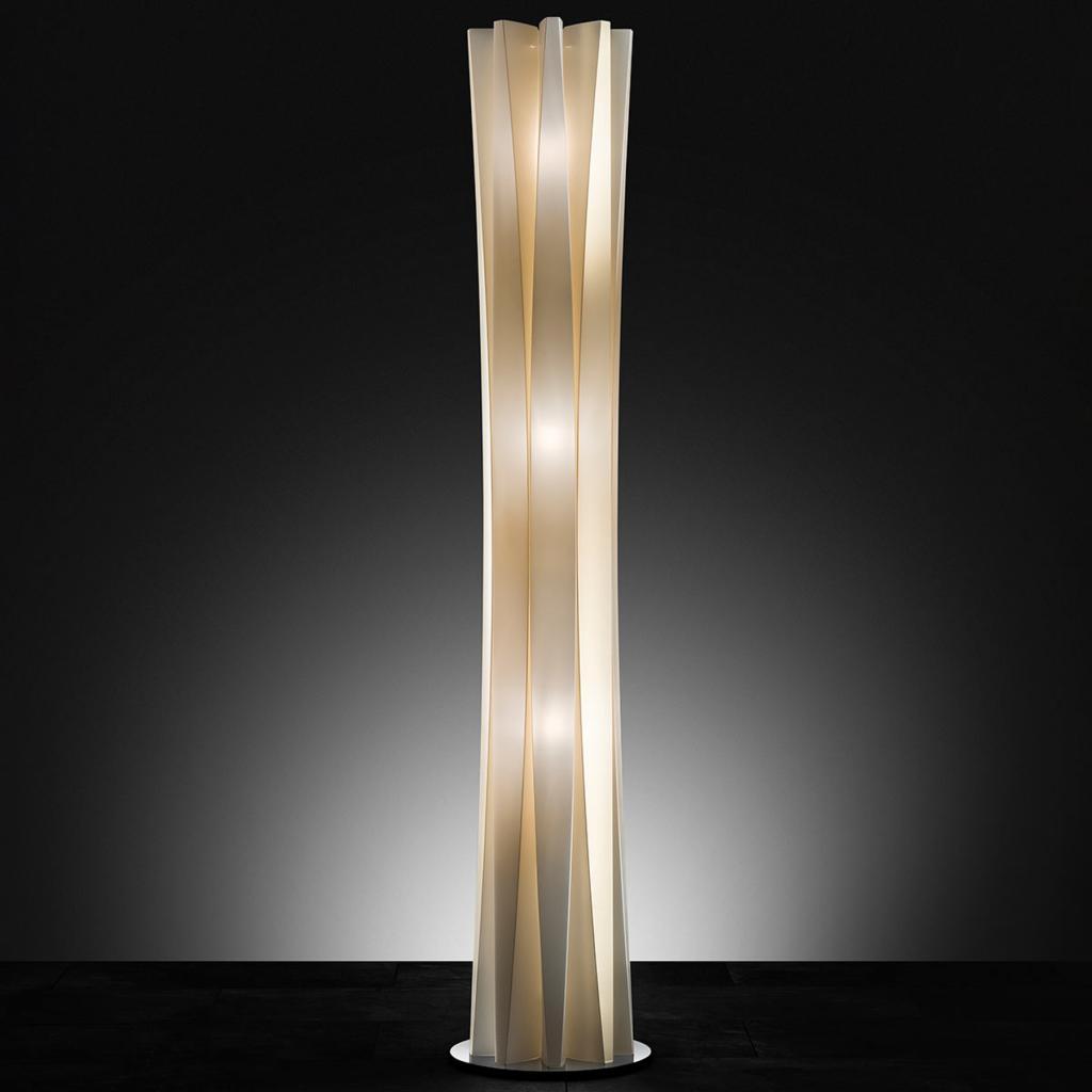 Produktové foto Slamp Slamp Bach stojací lampa, výška 161 cm, zlatá