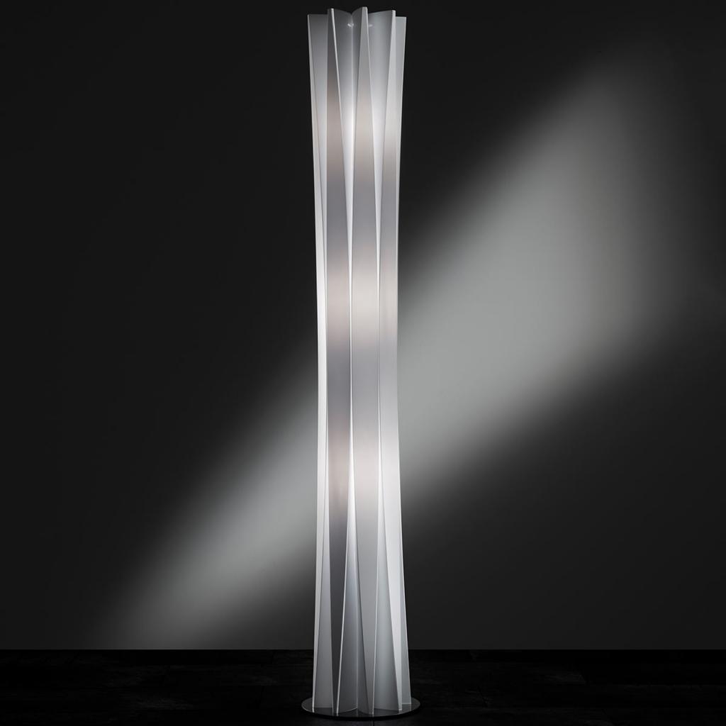 Produktové foto Slamp Slamp Bach stojací lampa, výška 184 cm, bílá