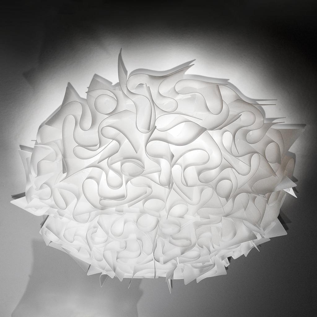 Produktové foto Slamp Slamp Veli designové stropní světlo, 78cm, opálové