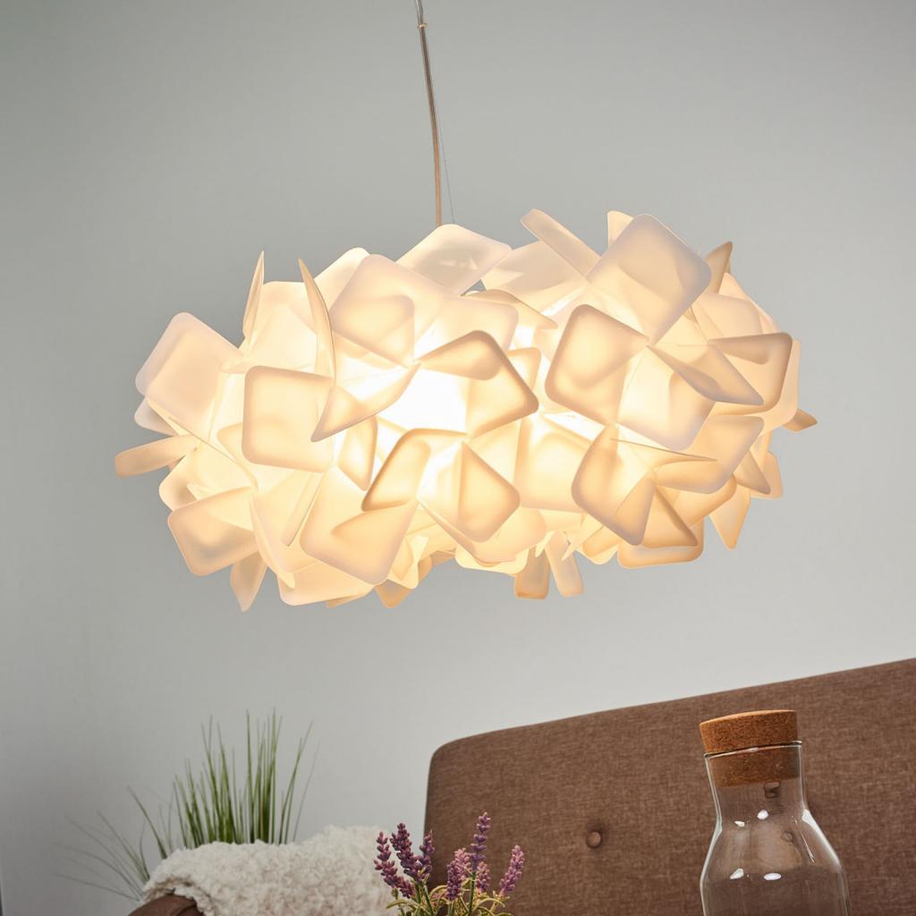 Produktové foto Slamp Slamp Clizia - designové závěsné světlo, bílé