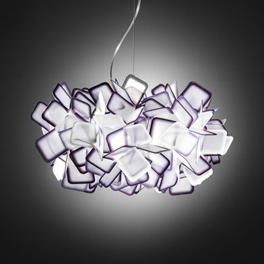 Produktové foto Slamp Slamp Clizia - designové závěsné světlo, fialové