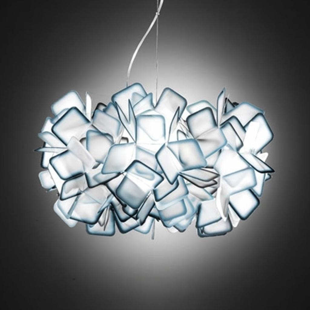Produktové foto Slamp Slamp Clizia - designové závěsné světlo, modré