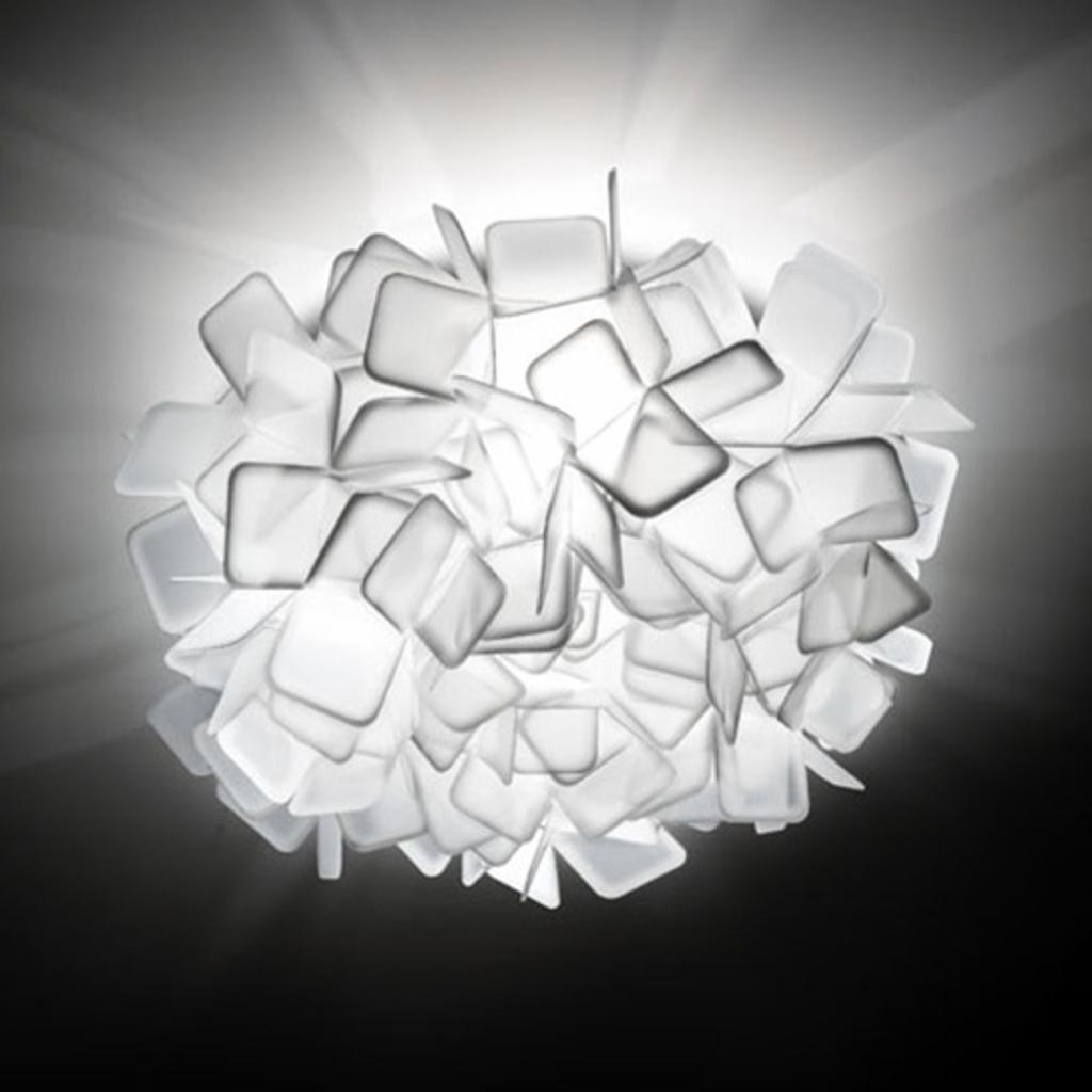 Produktové foto Slamp Slamp Clizia - designové nástěnné světlo, bílé