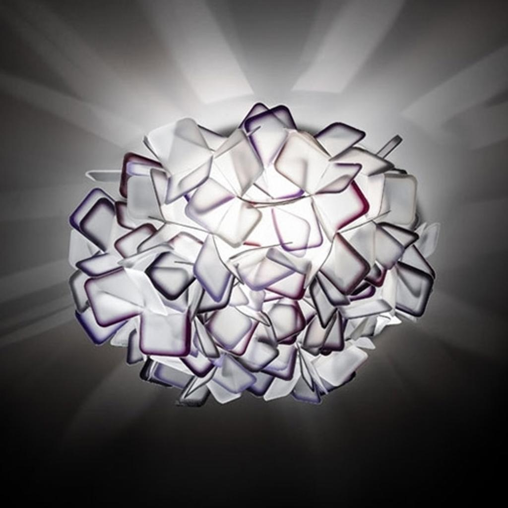 Produktové foto Slamp Slamp Clizia - designové nástěnné světlo, fialové