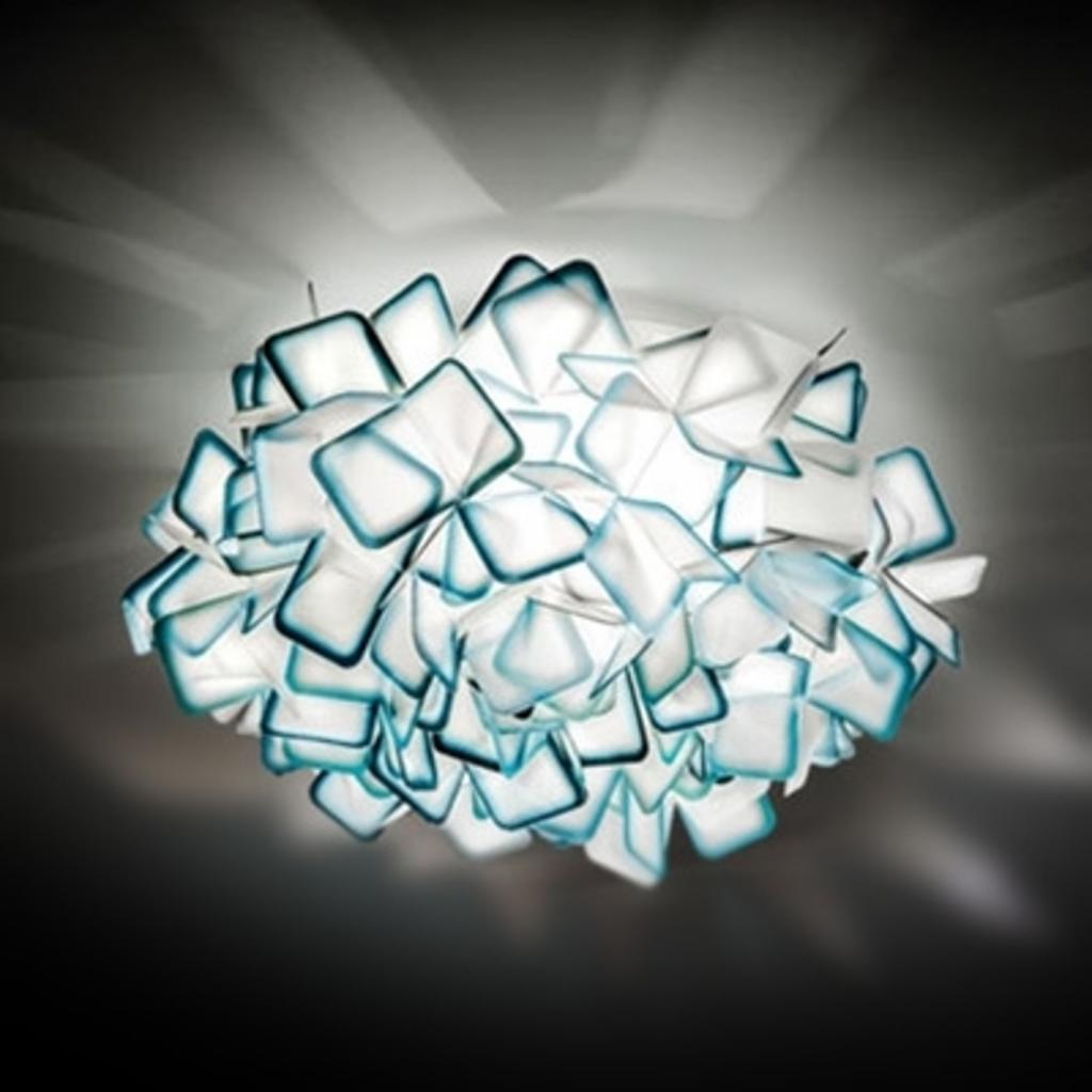 Produktové foto Slamp Slamp Clizia - designové nástěnné světlo, modré