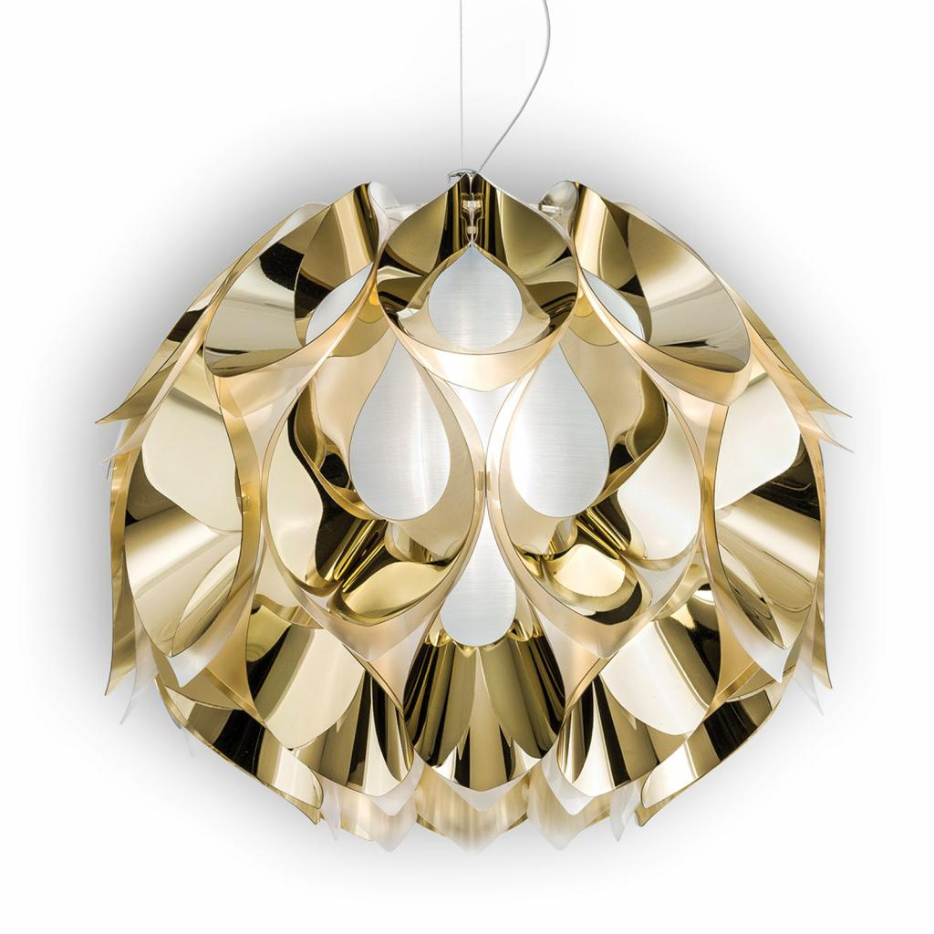 Produktové foto Slamp Slamp Flora - závěsné světlo, zlaté, 50 cm