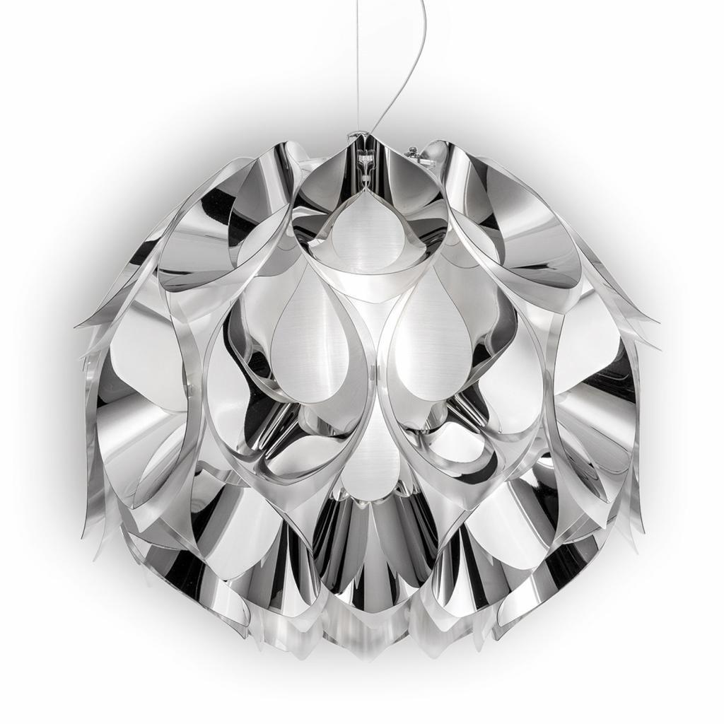 Produktové foto Slamp Slamp Flora - závěsné světlo, stříbrné, 50 cm