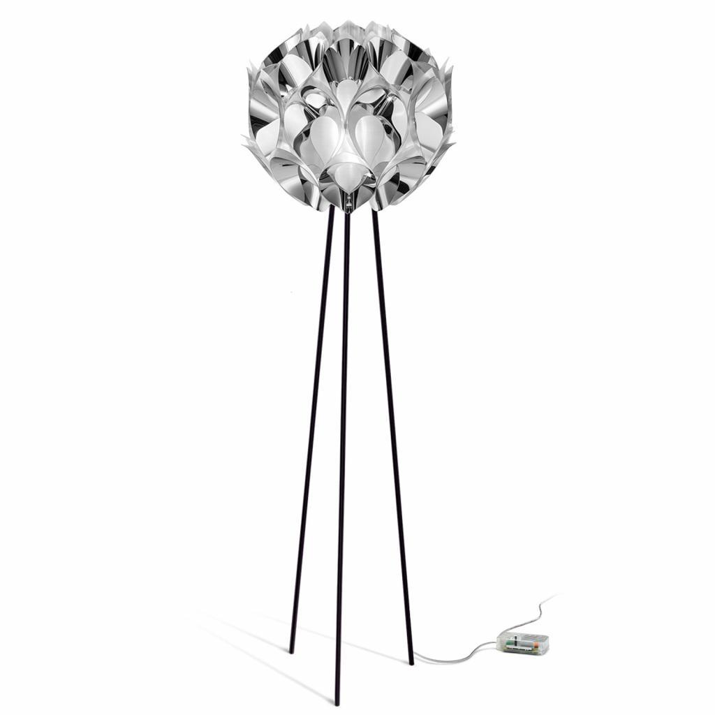 Produktové foto Slamp Slamp Flora - designová stojací lampa, stříbrná